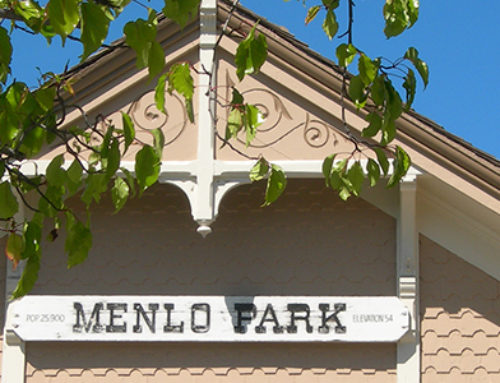Menlo Park Train Station
